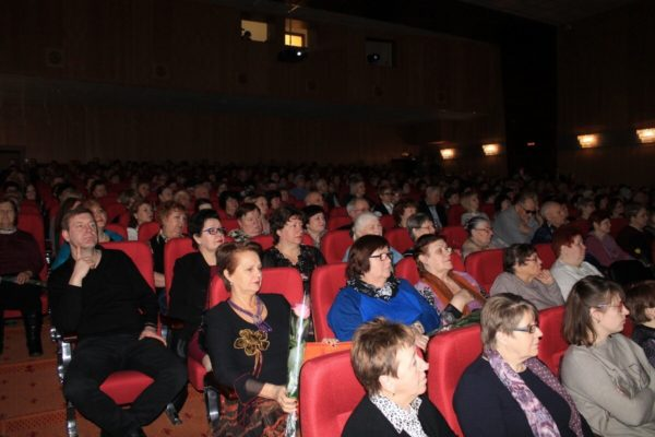 Отчёт и концерт в КДЦ села Ершово