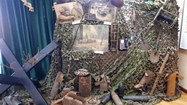 Открытие музейной экспозиции в КДЦ села Ершово