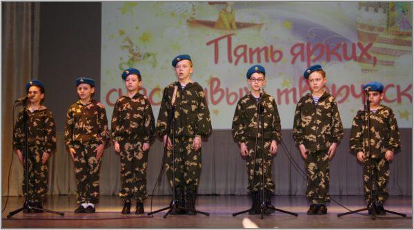 Многие участники студии - дети внуки и правнуки военных.