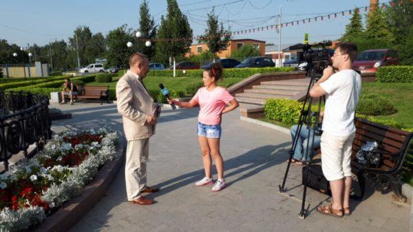 Одинцовское телевидение о мероприятии в селе Ершово
