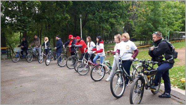 Велопробег-флешмоб в СП Ершовское
