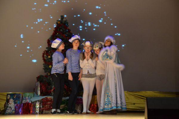 Премьера новогоднего спектакля в селе Саввинская Слобода