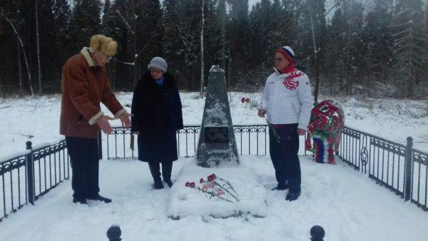 Внучка  воина-сибиряка посетила место гибели деда