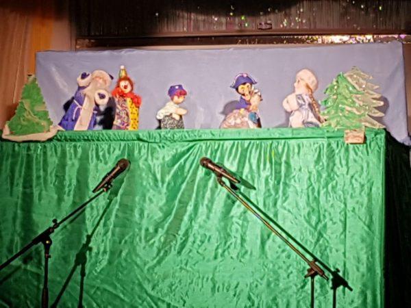 Куклы на гастролях