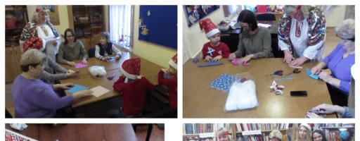 В библиотеке села Аксиньино угощают пряниками!