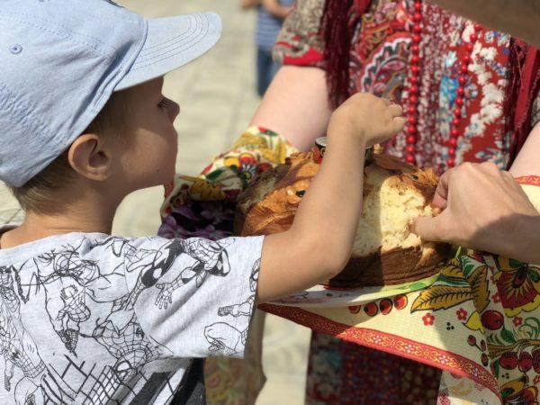 Яблочный Спас отпраздновали в селе Саввинская Слобода