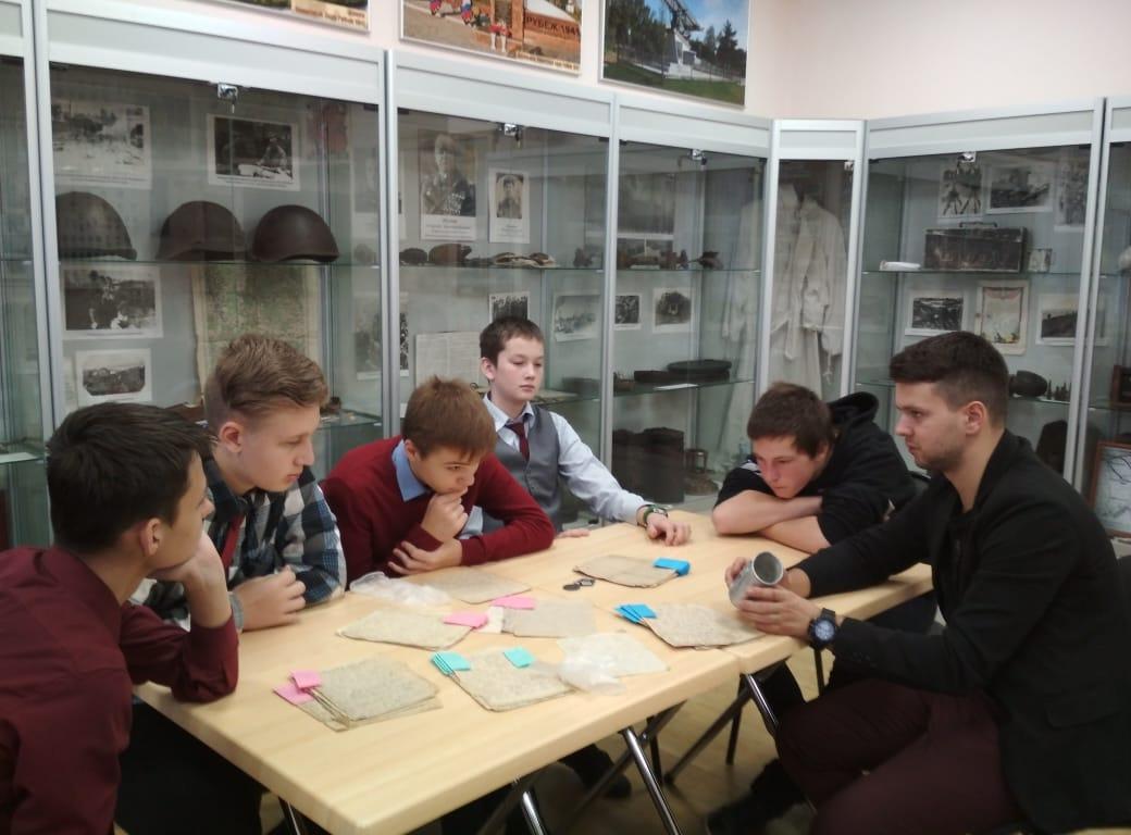 Уроки мужества в музейной экспозиции села Каринское