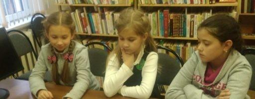 Фантазёры и затейники собрались в библиотеке села Аксиньино