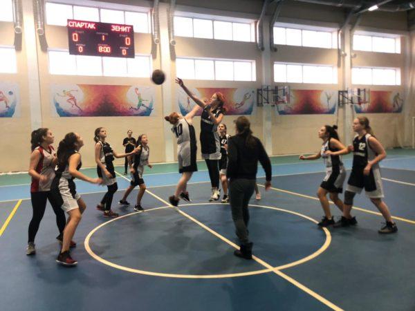 Открытое первенство по баскетболу