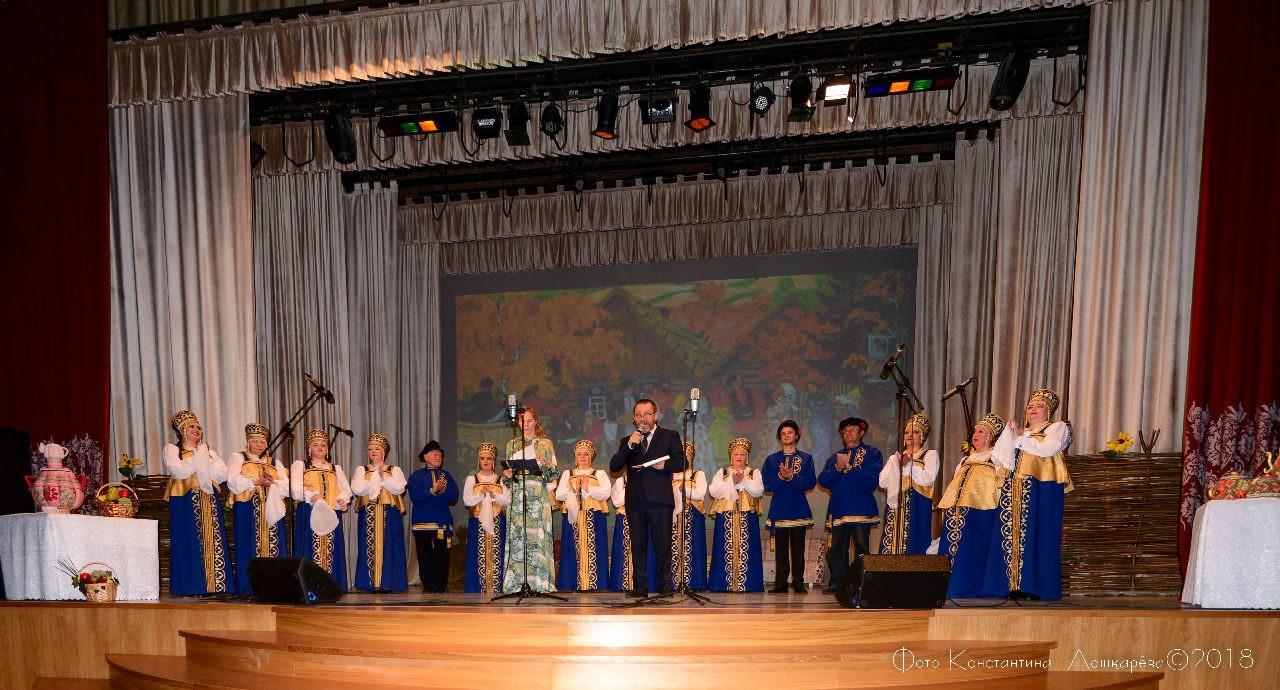 1 декабря в КСДЦ села Ершово состоялся юбилейный концерт Ершовского хора русской песни имени Марии Владыкиной.