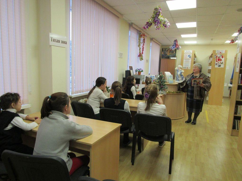 Предновогодние посиделки в библиотеке села Саввинская Слобода