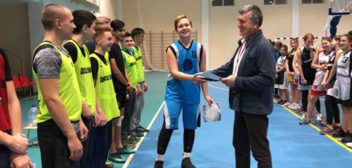 Финальные игры открытого Первенства сельского поселения Ершовское по баскетболу