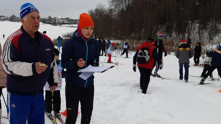 На коньках и на лыжах
