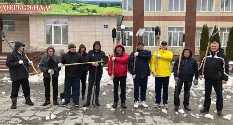 Как работники культуры весне помогали
