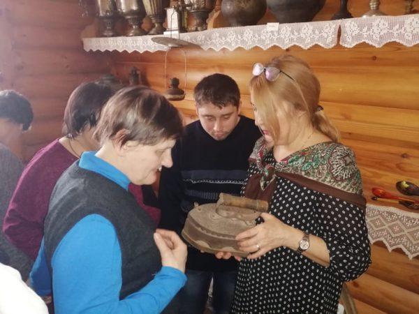 Начало масленичной недели в селе Каринское