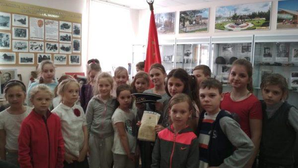 Урок мужества в музейной экспозиции села Каринское