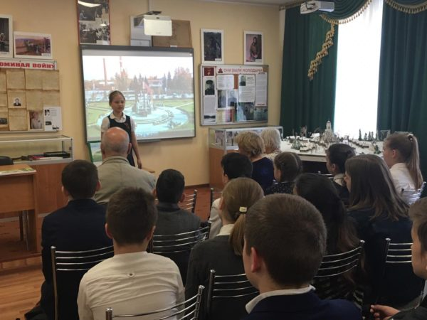 Открытие новой музейной экспозиции в селе Ершово
