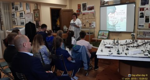 Исторический урок в Ершово