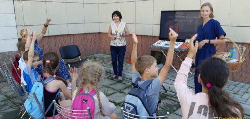 В летних читальных залах