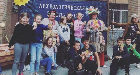 День археолога в селе Каринское