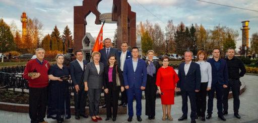 В Одинцовском городском округе продолжается эстафета «Салют Победе!»