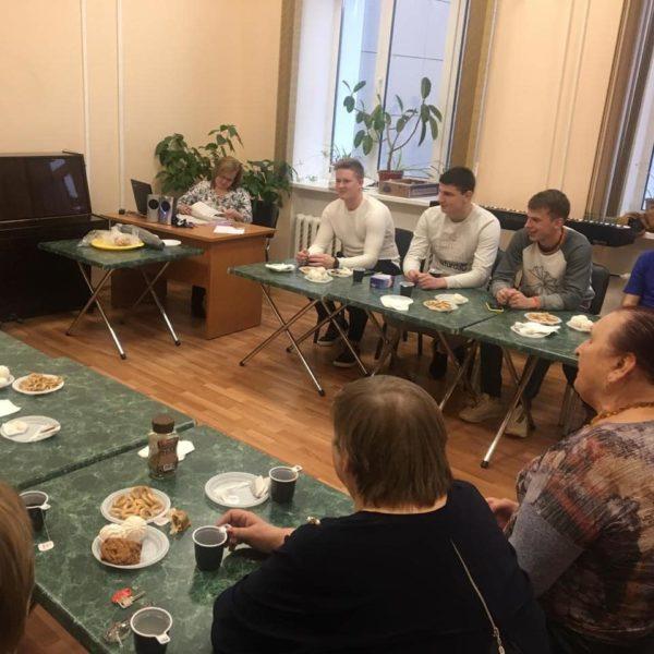 В КСДЦ села Ершово состоялась встреча поколений