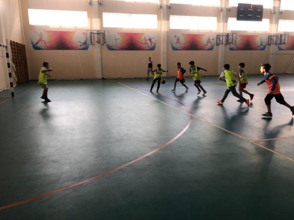 Футбол для самых маленьких