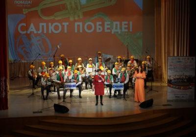 Областной конкурс духовых оркестров состоялся в селе Ершово