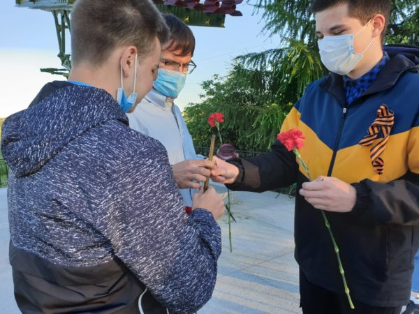 "Молодежная акция ""Свеча памяти 2020"""