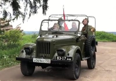 Попурри на темы песен военных лет