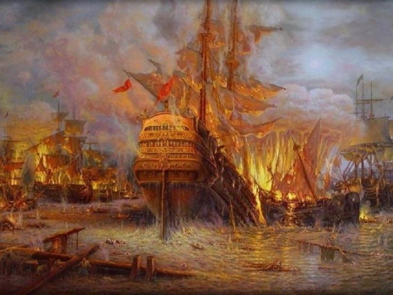 К 250-летию Чесменского сражения