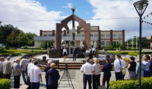 Две памятные даты отметили в Ершово