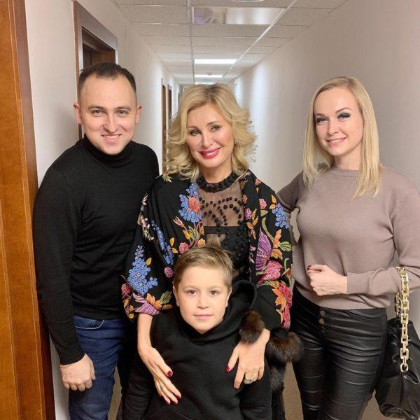 С земляками Михаила Евдокимова