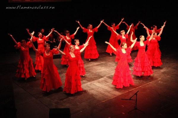 Студия танца фламенко «Ритмы огня». Возраст 15 +.