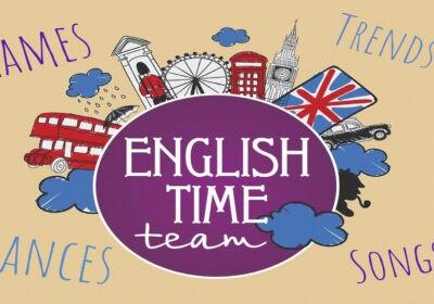 WELCOME! ПРИГЛАШАЕМ! NEW ENGLISH CLUB!